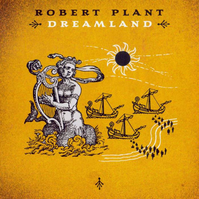 Robert Plant - Dreamland - Front