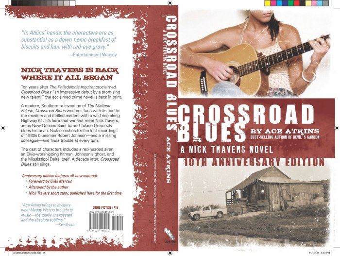 Ace Atkins, Crossroad Blues, foreword by Greil Marcus
