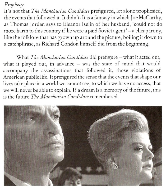 From 'The Manchurian Candidate,' BFI Film Classics, 2002