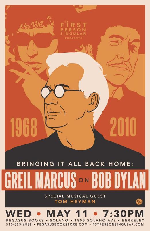 GM on Bob Dylan @ First Person Singular, May 11, 2011