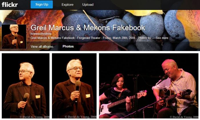 GM and Mekons Fakebook