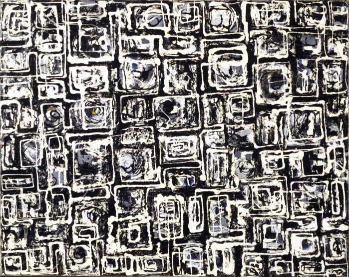 Lee Krassner White Squares