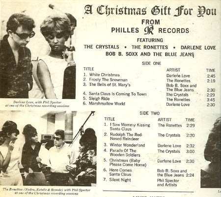 A Christmas Gift For You From Phil Spector.A Christmas Gift For You Greilmarcus Net