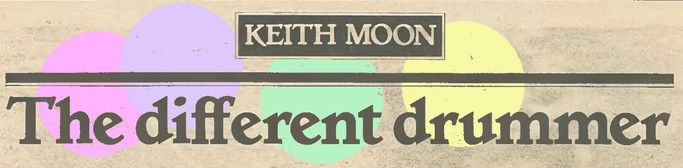 keith moon headline